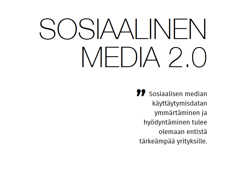Social media 2.0 (in Finnish)
