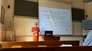 ECIS 2016 conference presenting my blog research