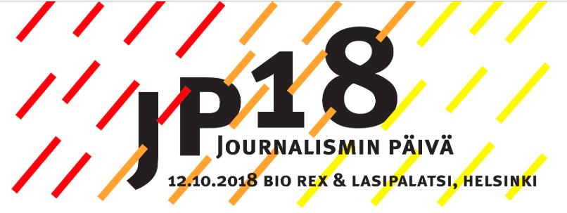 Journalismin päivä 2018 - paneelikeskustelu ja media 2030 -toimialastrategiatyö